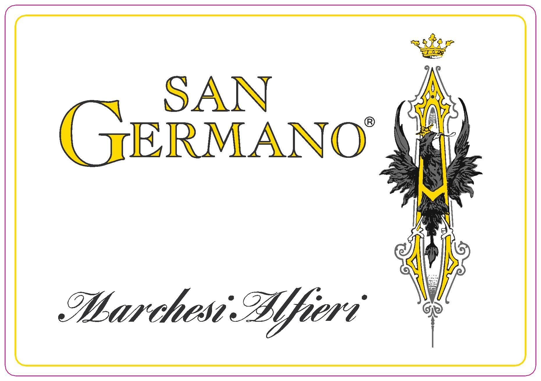 Marchesi Alfieri Monferrato San Germano Rosso 2009 Front Label
