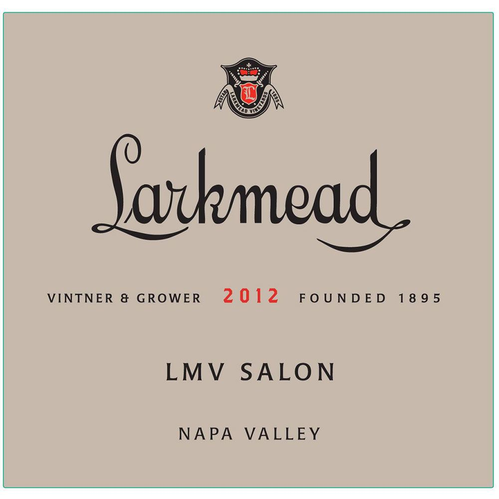 Larkmead LMV Salon 2012 Front Label