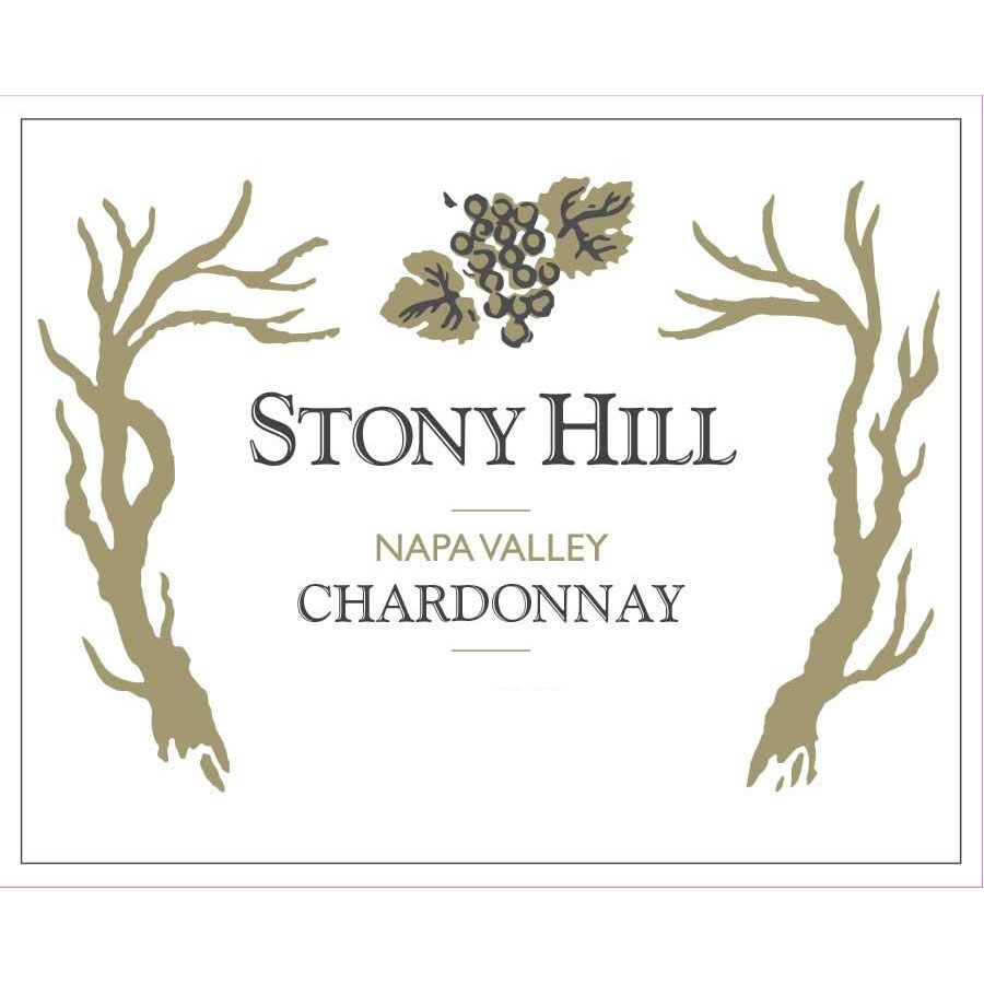 Stony Hill Chardonnay 2012 Front Label