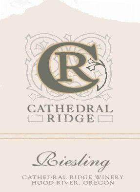 Cathedral Ridge Winery Columbia Gorge Riesling 2012 Front Label