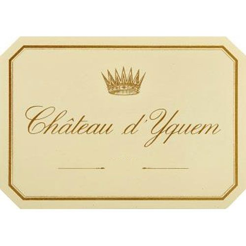 Chateau d'Yquem Sauternes (375ML half-bottle) 2015 Front Label