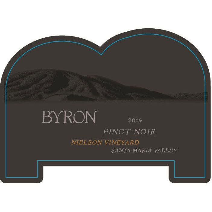 Byron Nielson Vineyard Pinot Noir 2014 Front Label