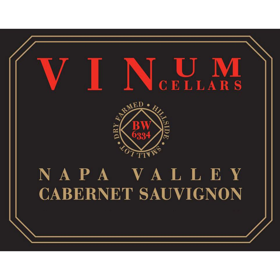 Vinum Cellars Napa Valley Cabernet Sauvignon 2014 Front Label
