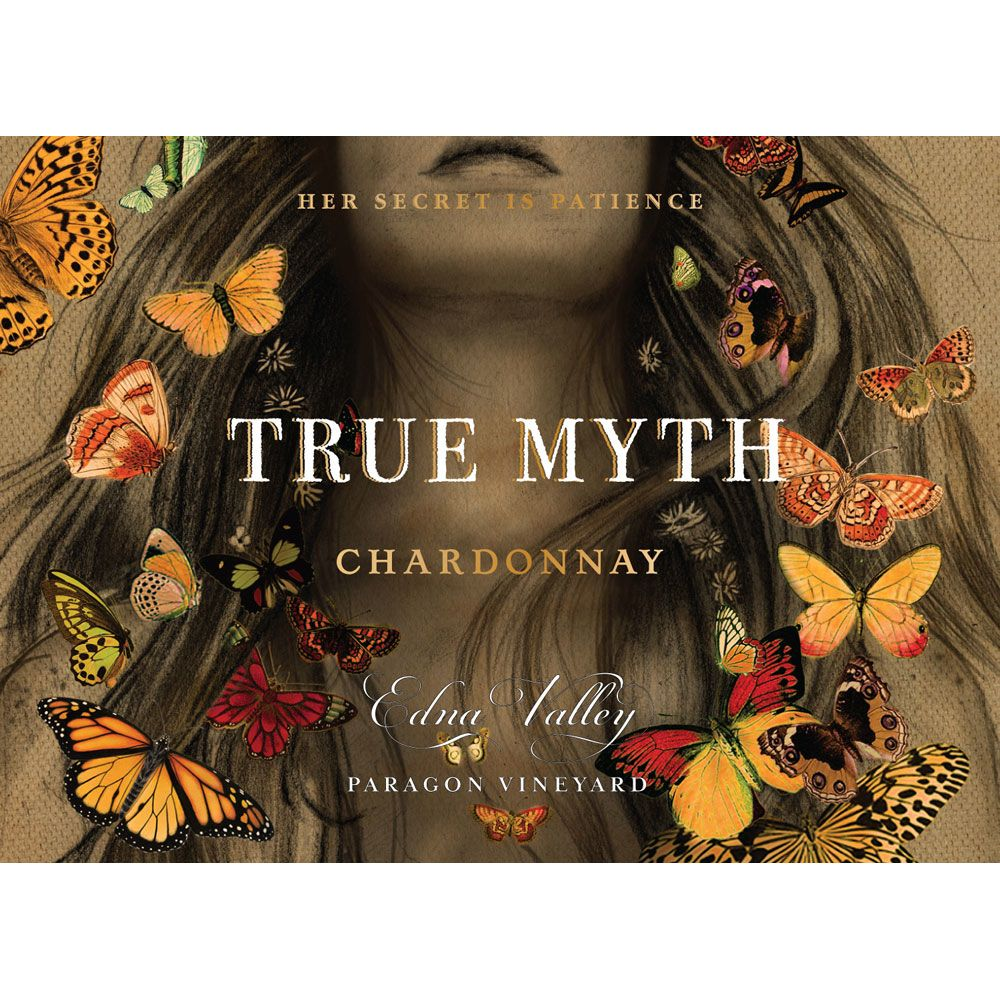 True Myth Chardonnay 2015 Front Label