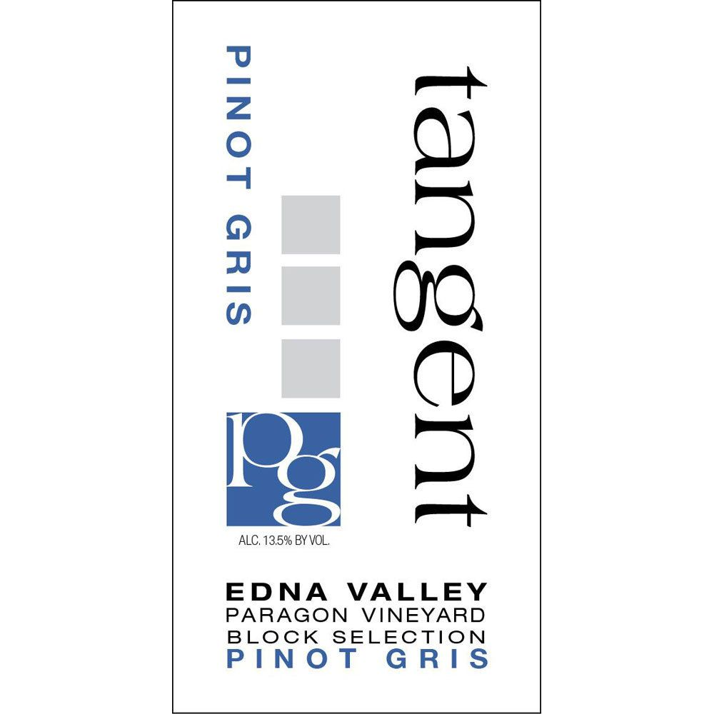 Tangent Paragon Vineyard Pinot Gris 2015 Front Label