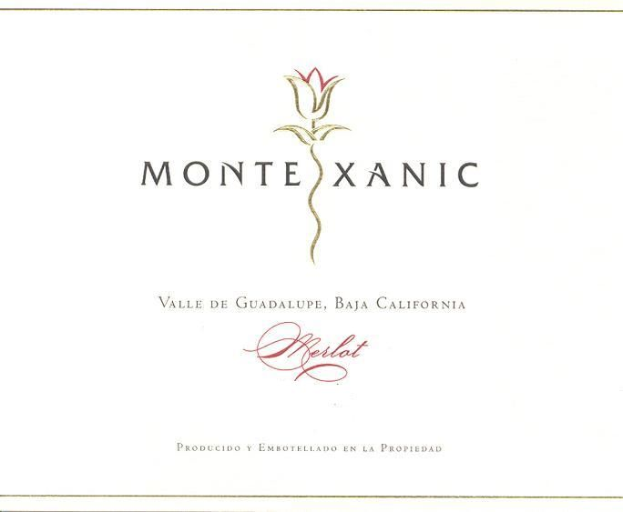 MonteXanic Winery Merlot 2012 Front Label
