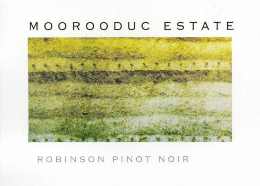 Moorooduc Estate Robinson Pinot Noir 2013 Front Label