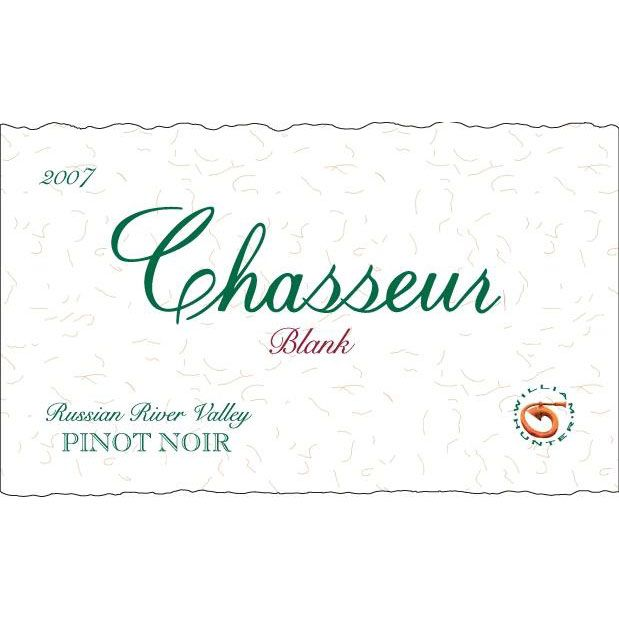 Chasseur Blank Pinot Noir 2007 Front Label
