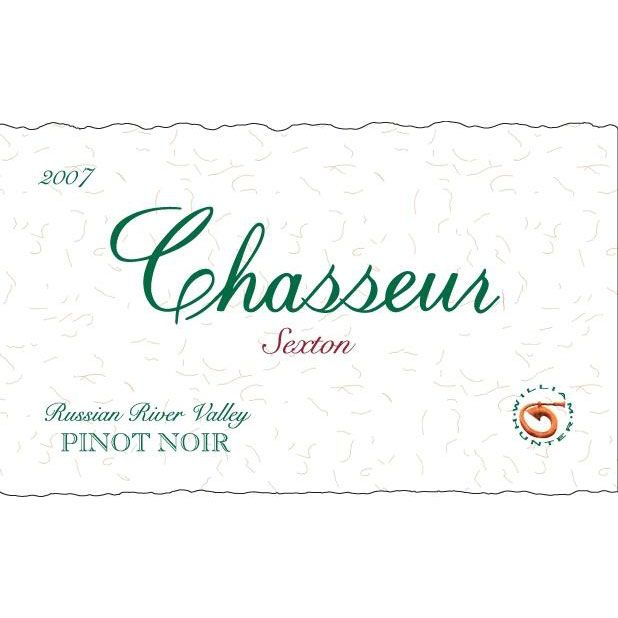 Chasseur Sexton Pinot Noir 2007 Front Label