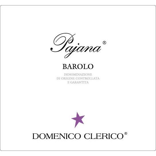 Domenico Clerico Barolo Pajana 2012 Front Label