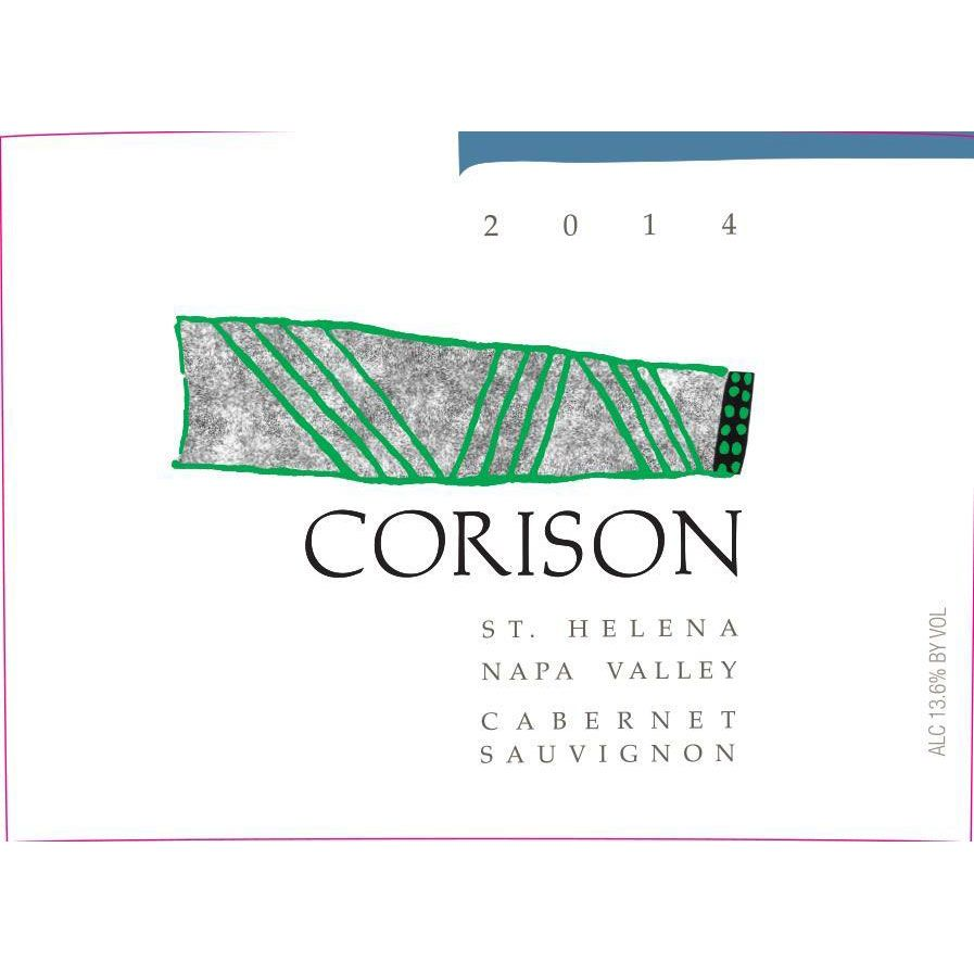 Corison Cabernet Sauvignon (375ML half-bottle) 2014 Front Label