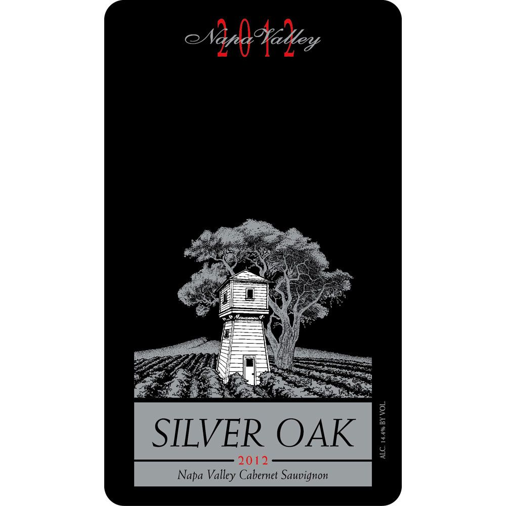 Silver Oak Napa Valley Cabernet Sauvignon (6 Liter Bottle) 2012 Front Label