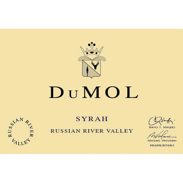 DuMOL Russian River Valley Syrah 2006 Front Label