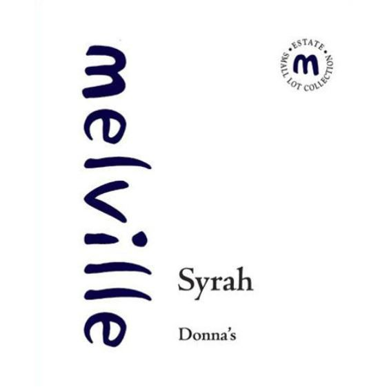 Melville Donna's Syrah 2004 Front Label