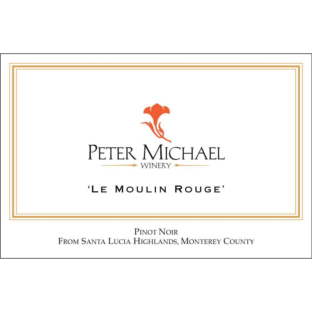 Peter Michael Le Moulin Rouge Pinot Noir 2005 Front Label
