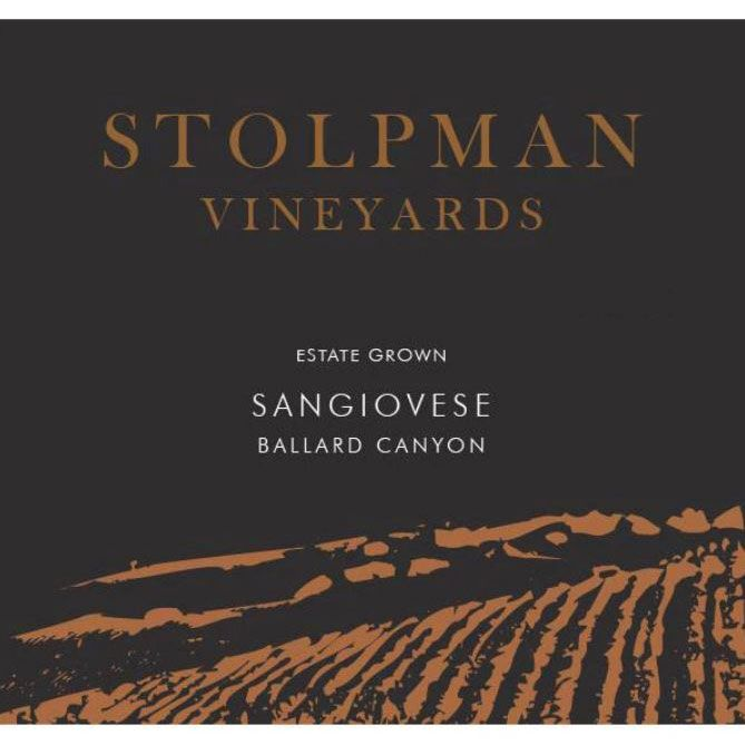 Stolpman Vineyards Sangiovese 2005 Front Label