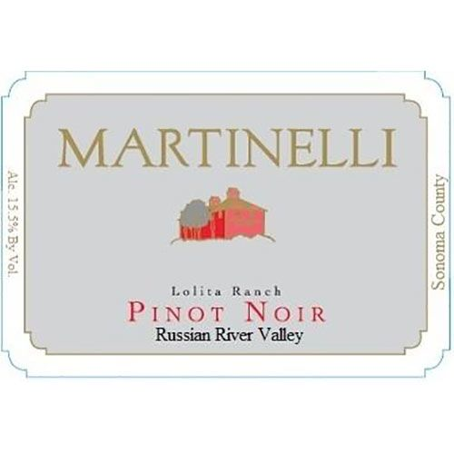 Martinelli Lolita Ranch Pinot Noir 2005 Front Label