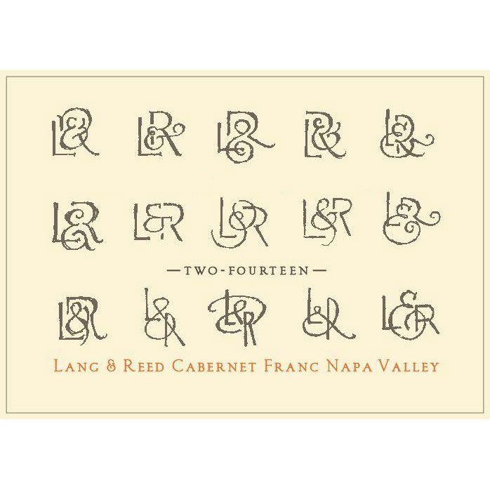 Lang & Reed Two-Fourteen Cabernet Franc 2014 Front Label