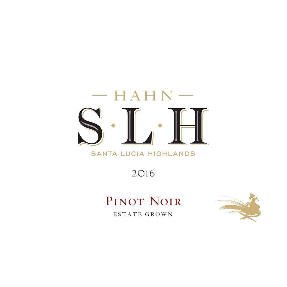 Hahn SLH Pinot Noir 2016 Front Label