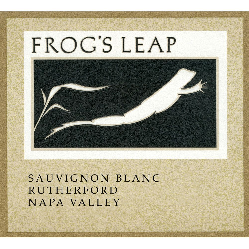 Frog's Leap Napa Valley Sauvignon Blanc (375ML half-bottle) 2016 Front Label