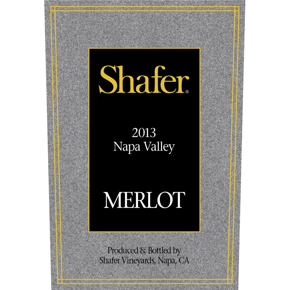 Shafer Napa Valley Merlot (1.5 Liter Magnum) 2014 Front Label