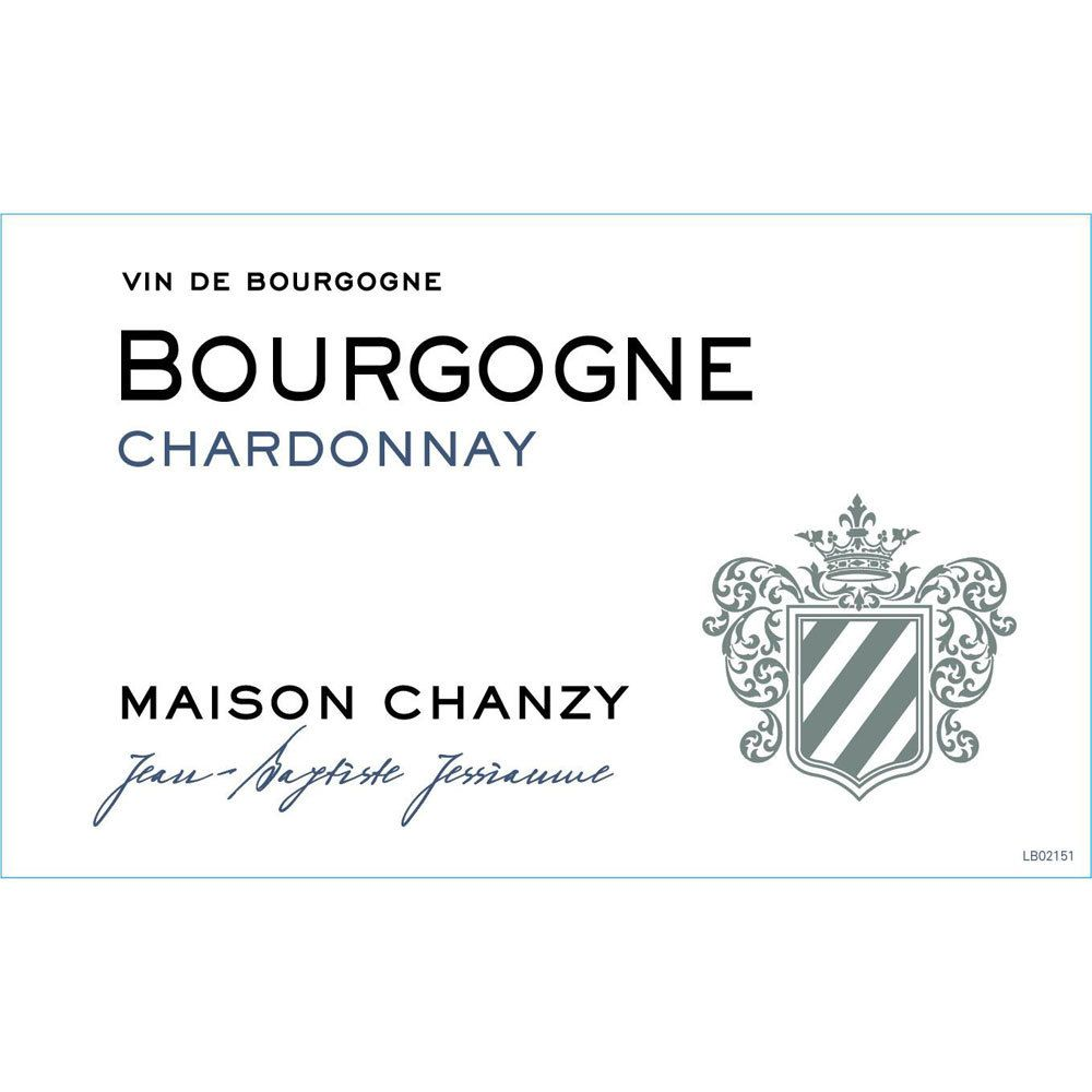 Maison Chanzy Bourgogne Chardonnay 2016 Front Label