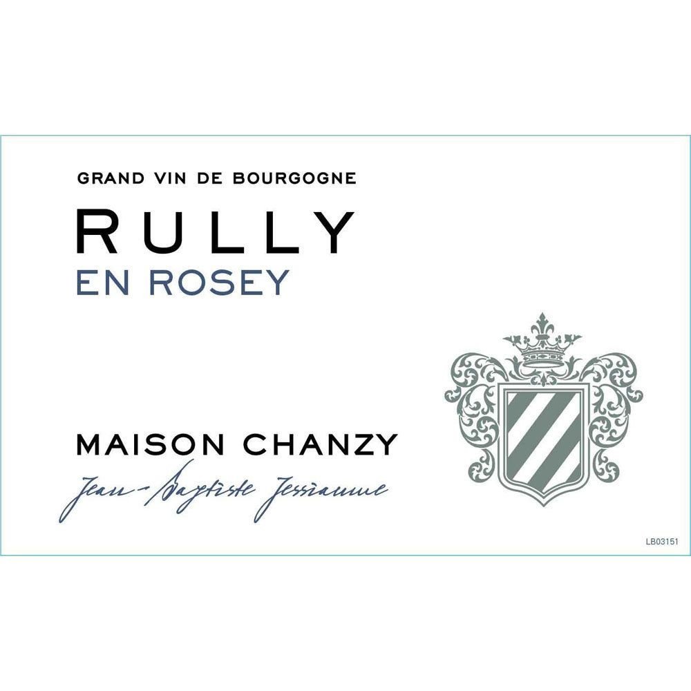 Maison Chanzy Rully En Rosey Blanc 2016 Front Label