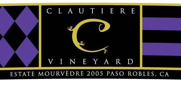 Clautiere Vineyard Estate Mourvedre 2005 Front Label