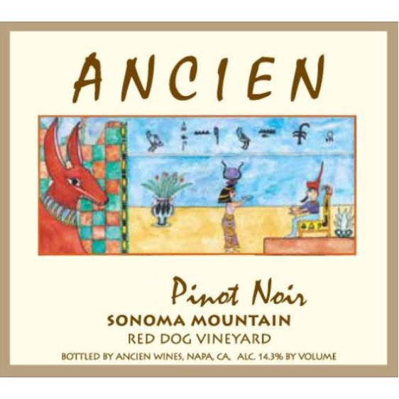 Ancien Wines Red Dog Vineyard Pinot Noir 2014 Front Label