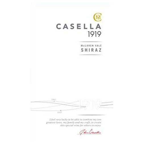 Casella Barossa Valley 1919 Shiraz 2006 Front Label