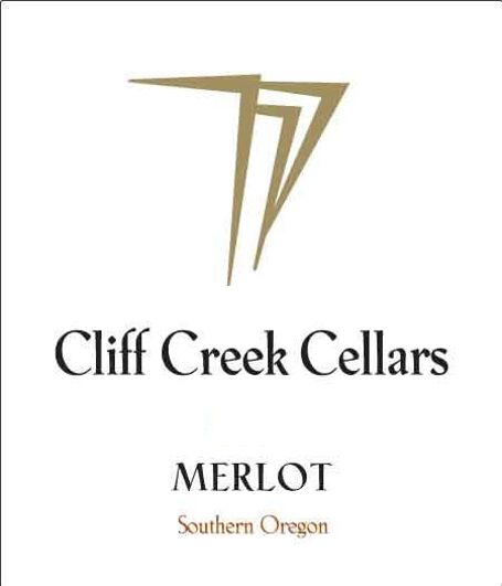 Cliff Creek winery Cellars Merlot 2011 Front Label