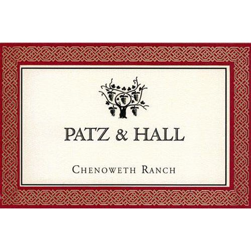 Patz & Hall Chenoweth Ranch Pinot Noir 2014 Front Label