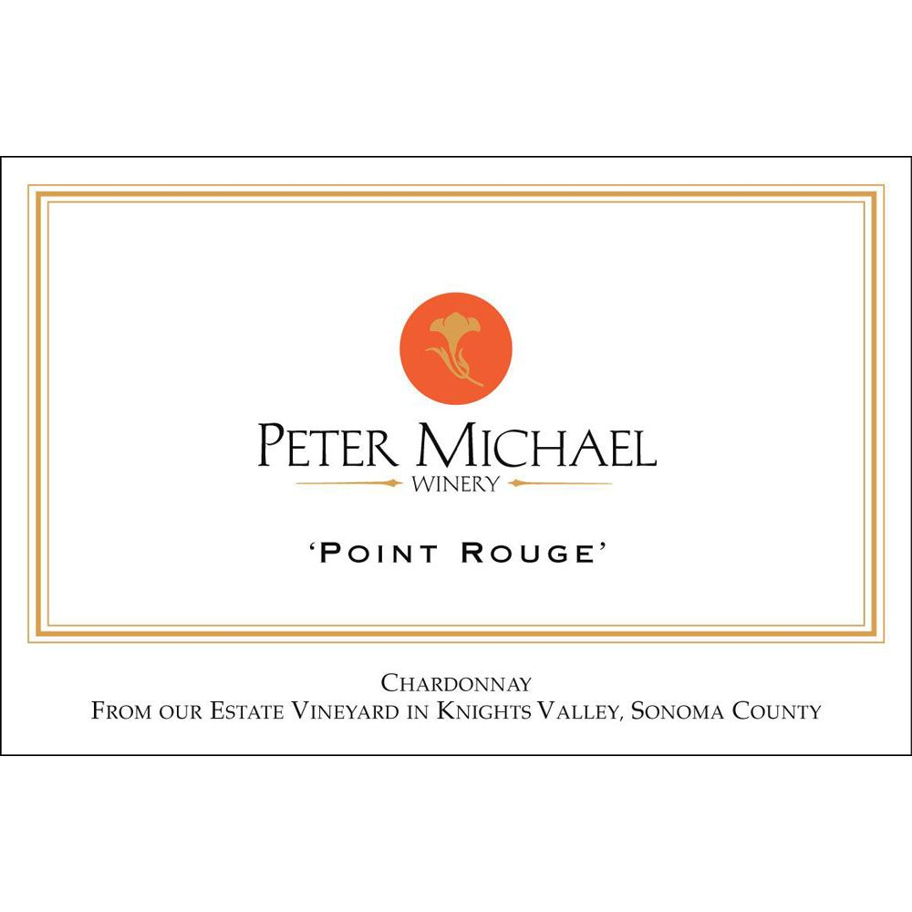 Peter Michael Point Rouge Chardonnay 2015 Front Label