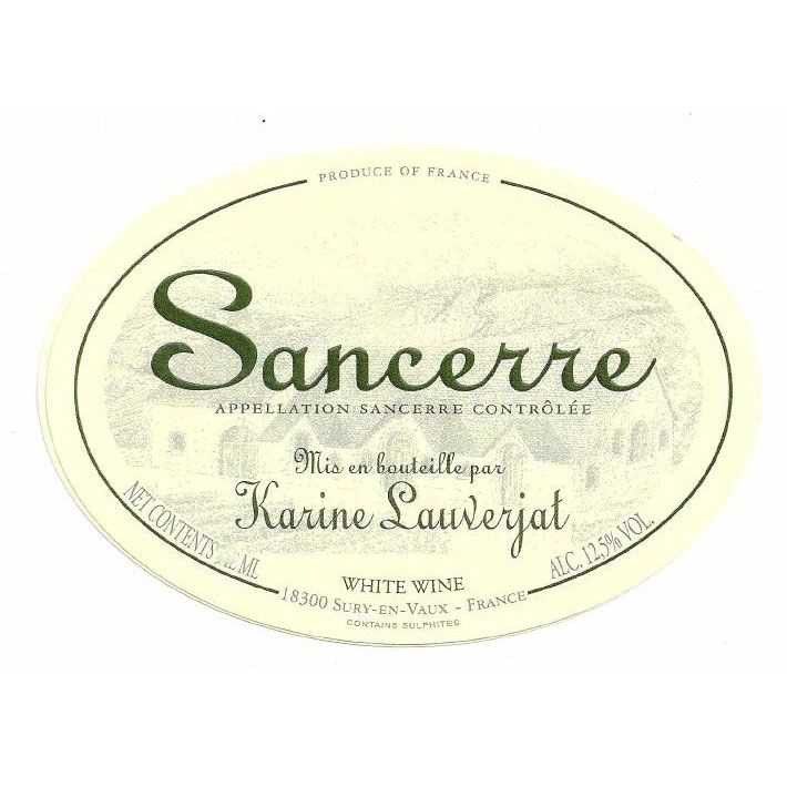 Karine Lauverjat Sancerre (375ML half-bottle) 2016 Front Label