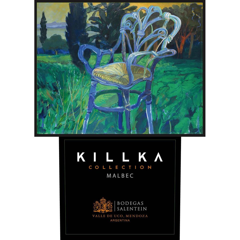 Salentein Killka Malbec 2016 Front Label