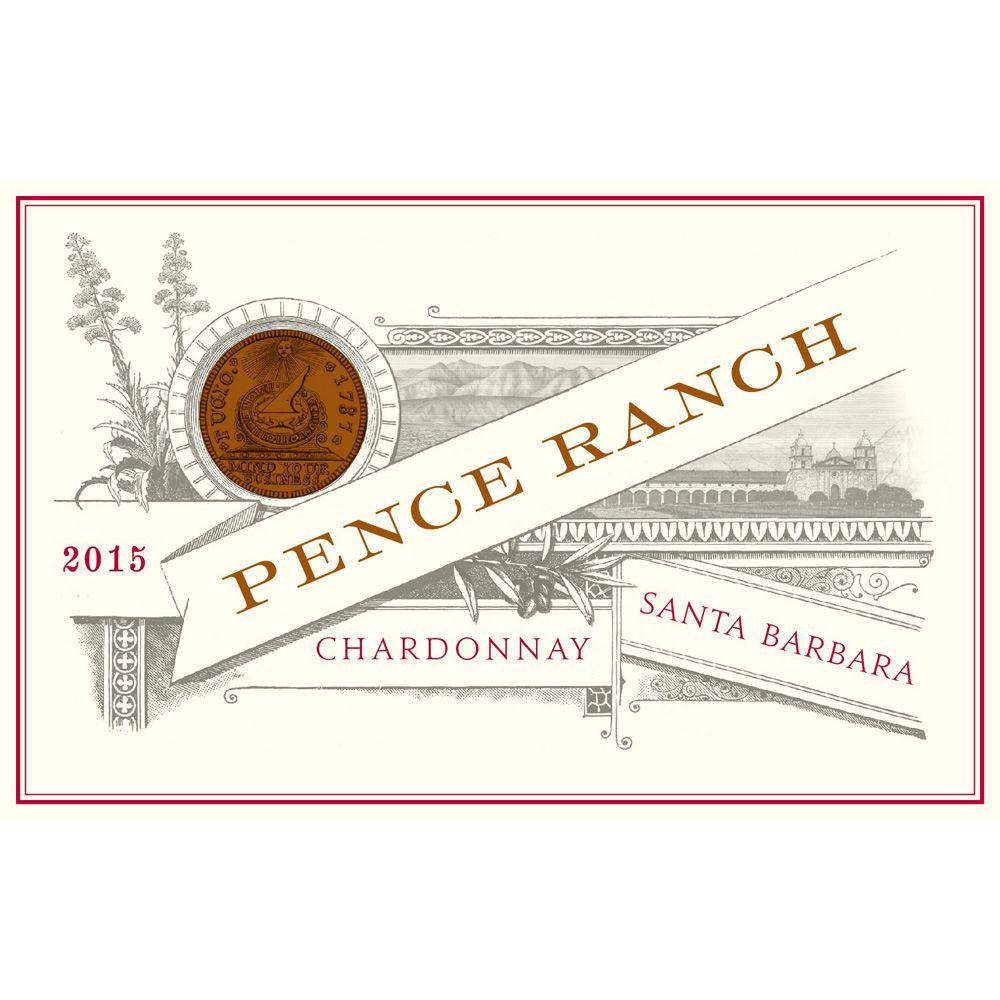 Pence Pence Ranch Chardonnay 2015 Front Label