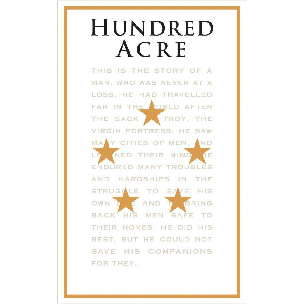 Hundred Acre Few and Far Between Cabernet Sauvignon 2013 Front Label