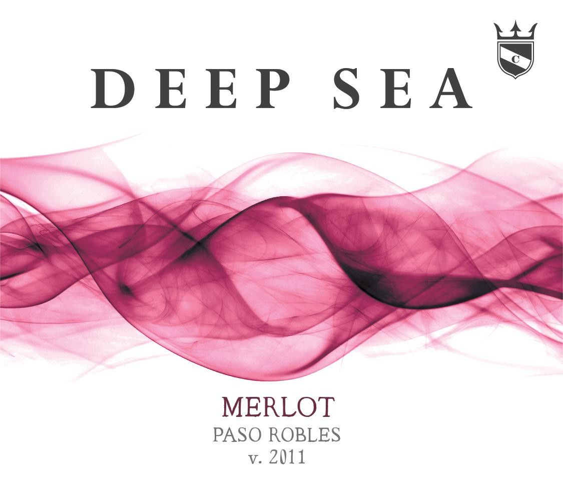Conway Family Wines Deep Sea Merlot 2011 Front Label
