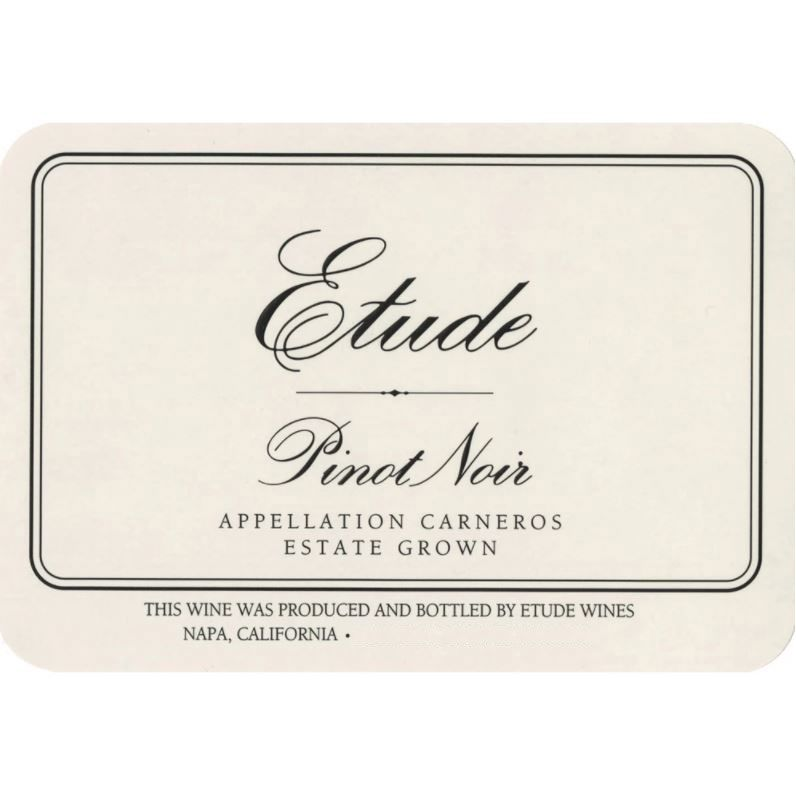 Etude Carneros Estate Pinot Noir (375ML half-bottle) 2015 Front Label