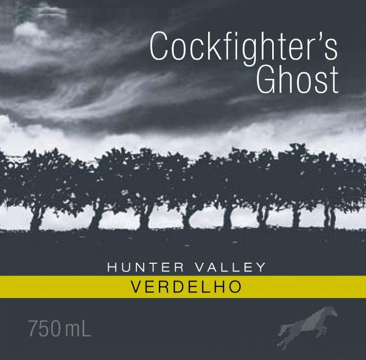 Poole's Rock Wines Cockfighter's Ghost Verdelho 2009 Front Label
