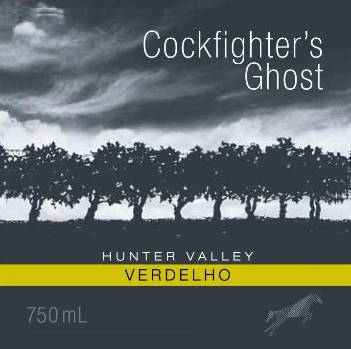 Poole's Rock Wines Cockfighter's Ghost Verdelho 2014 Front Label