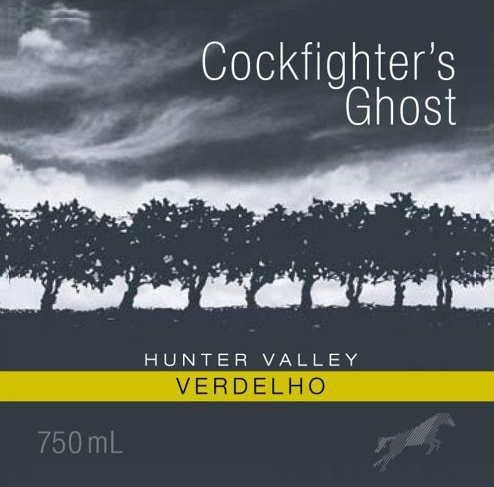 Poole's Rock Wines Cockfighter's Ghost Verdelho 2011 Front Label