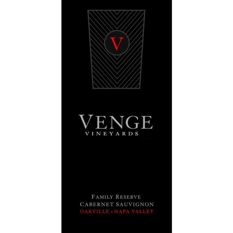 Venge Vineyards Family Reserve Cabernet Sauvignon 1997 Front Label