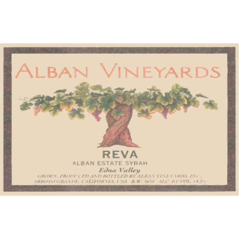 Alban Reva Estate Syrah (1.5 Liter Magnum) 2012 Front Label