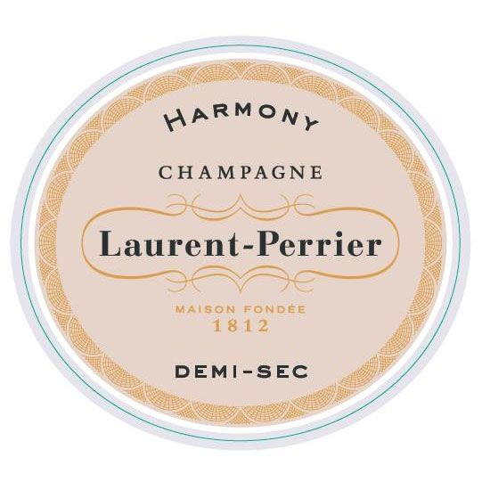 Laurent-Perrier Harmony Demi-Sec (375ML half-bottle) Front Label