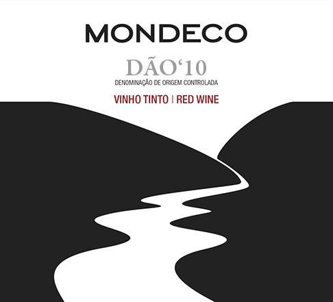 Quinta do Mondego Mondeco Tinto 2010 Front Label