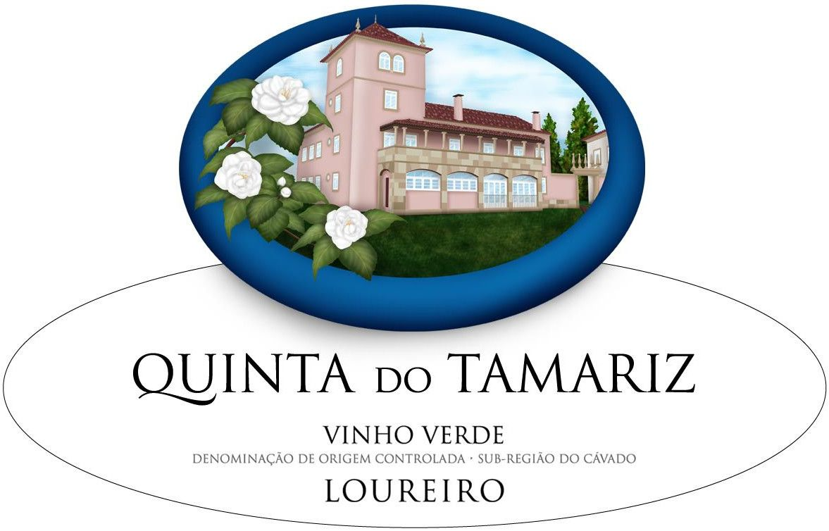 Quinta do Tamariz Loureiro 2008 Front Label