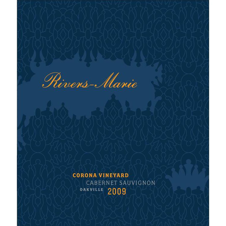 Rivers-Marie Corona Vineyard Cabernet Sauvignon 2012 Front Label