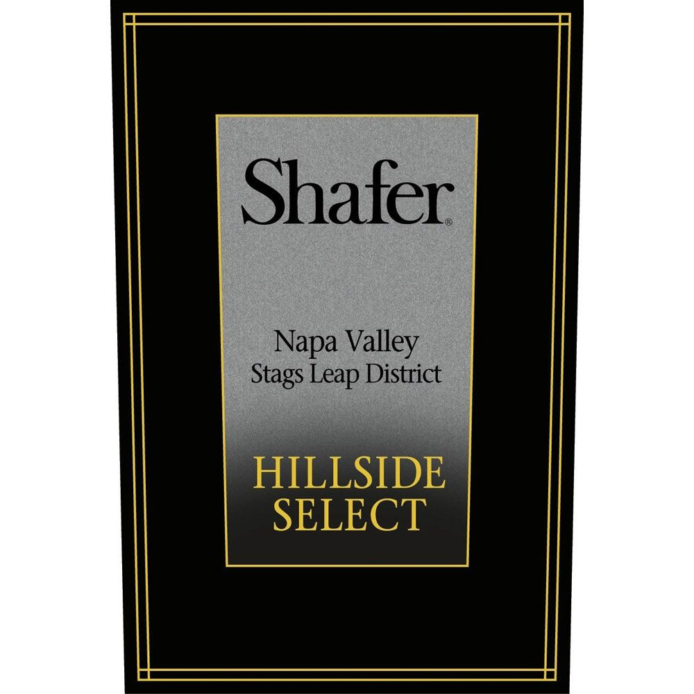 Shafer Hillside Select Cabernet Sauvignon (1.5 Liter Magnum) 2013 Front Label