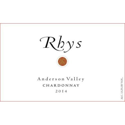 Rhys Vineyards Anderson Valley Chardonnay 2014 Front Label